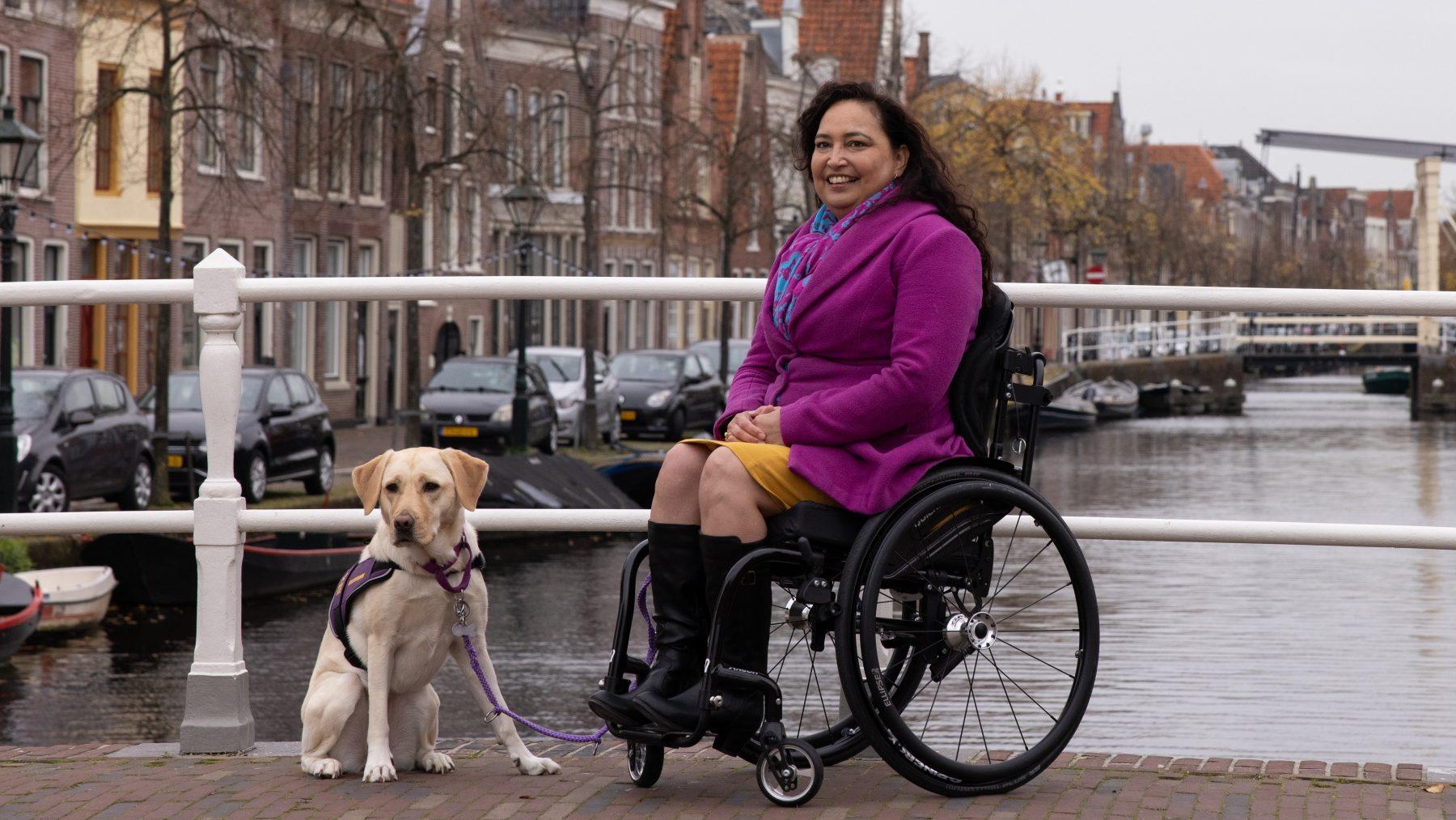 Claudia's been slaapt constant: 'Alsof duizend naalden in mijn been steken'
