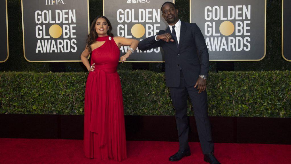 Van diepe decolletés tot sexy splits, 11 x de mooiste outfits van de Golden Globe