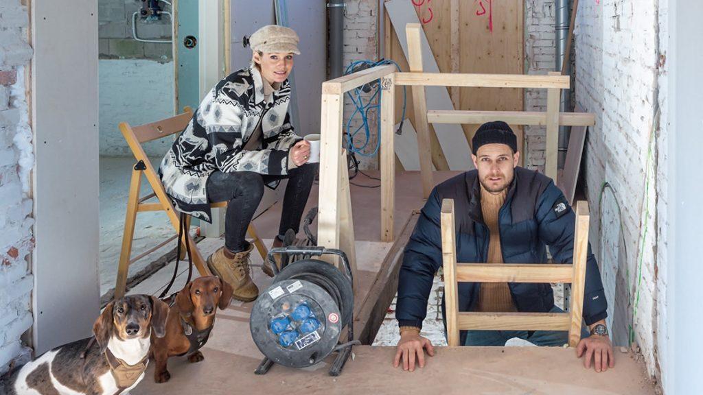 Het klushuis van Celine en Martijn: 'Alles was net klaar toen het huis affikte'