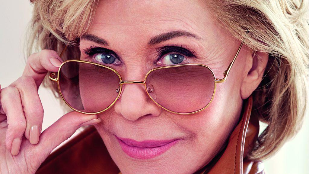 Loreal Paris slogan bestaat vijftig jaar - Jane Fonda