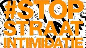 Internationale Vrouwendag Straatintimidatie Wildplakken