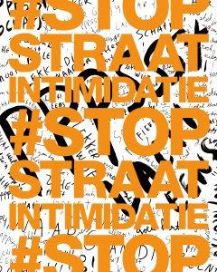 Stop Straatintimidatie Poster 1