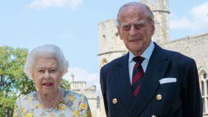 Winfrey koningin Elizabeth Philip