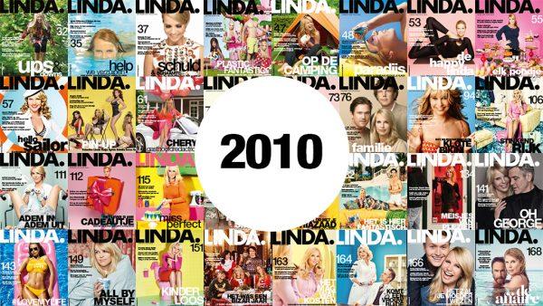 LINDA. covers van 2010: goed grijs, blij en koninklijk