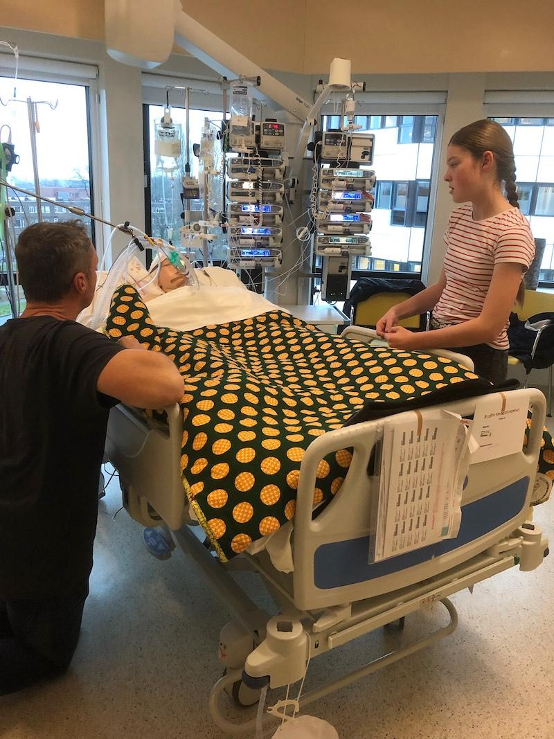 Guus in coma na auto-ongeluk