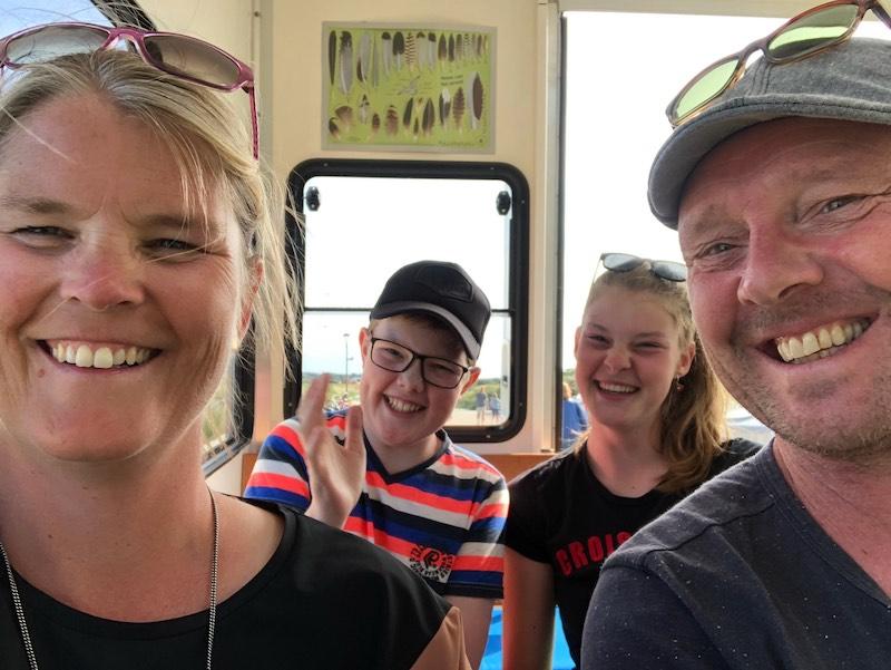 Het gezin in augustus 2019
