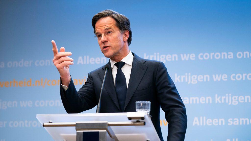 Mark Rutte persconferentie 23 maart over avondklok