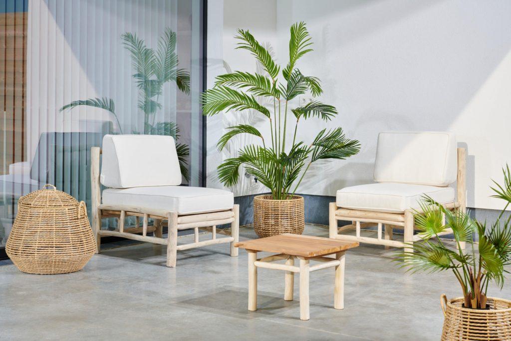 Maak jouw thuisterras af en win deze fijne PANTAI loungestoel