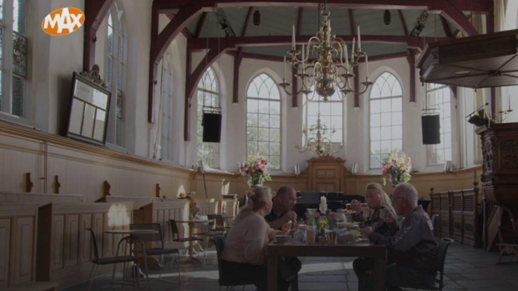 Bed & Breakfast in kerk