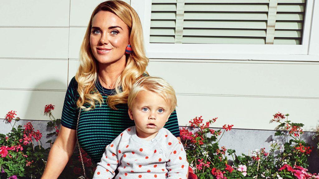 Monique Westenberg beleeft stoere dag met kleine André
