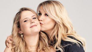 Backstage bij de shoot van Linda en dochter Noa: 'Net zo'n stresskip als ik'
