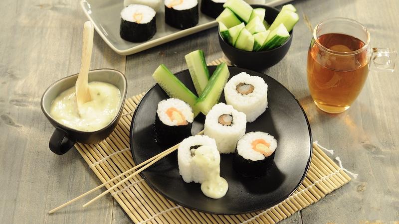 Asperge sushi