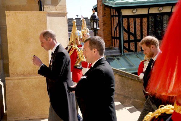 Fotograaf verstopte zich op opmerkelijk plek tijdens uitvaart prins Philip