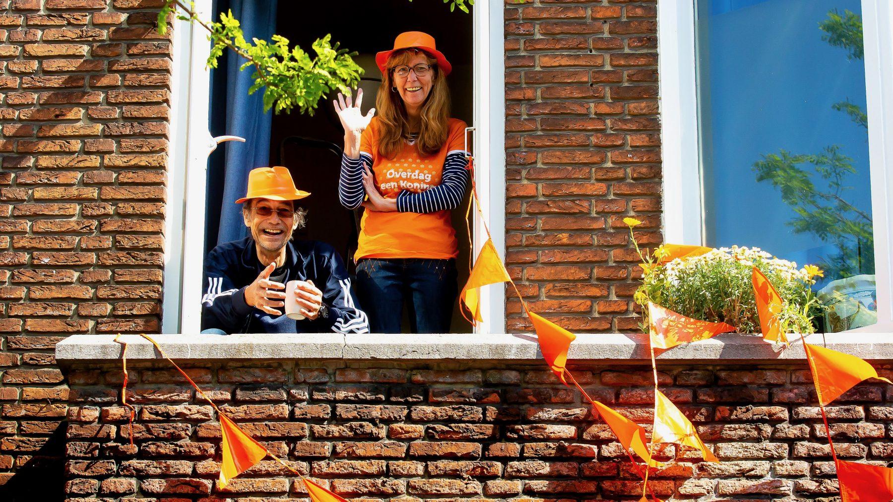 Koningsdag in 2020 in Rotterdam