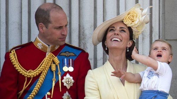 prins Louis is jarig