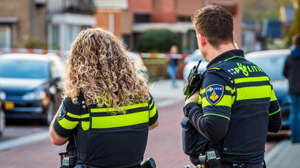examenstunt bussum politie