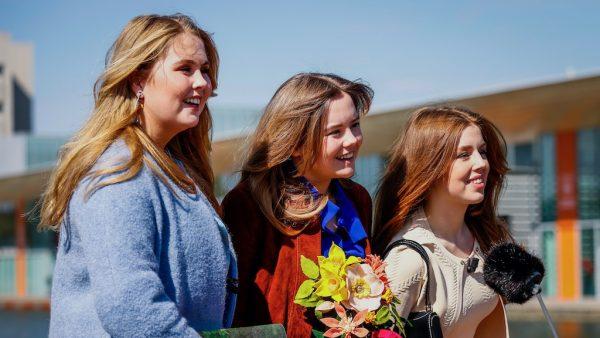 Amalia, Alexia en Ariane op Koningsdag
