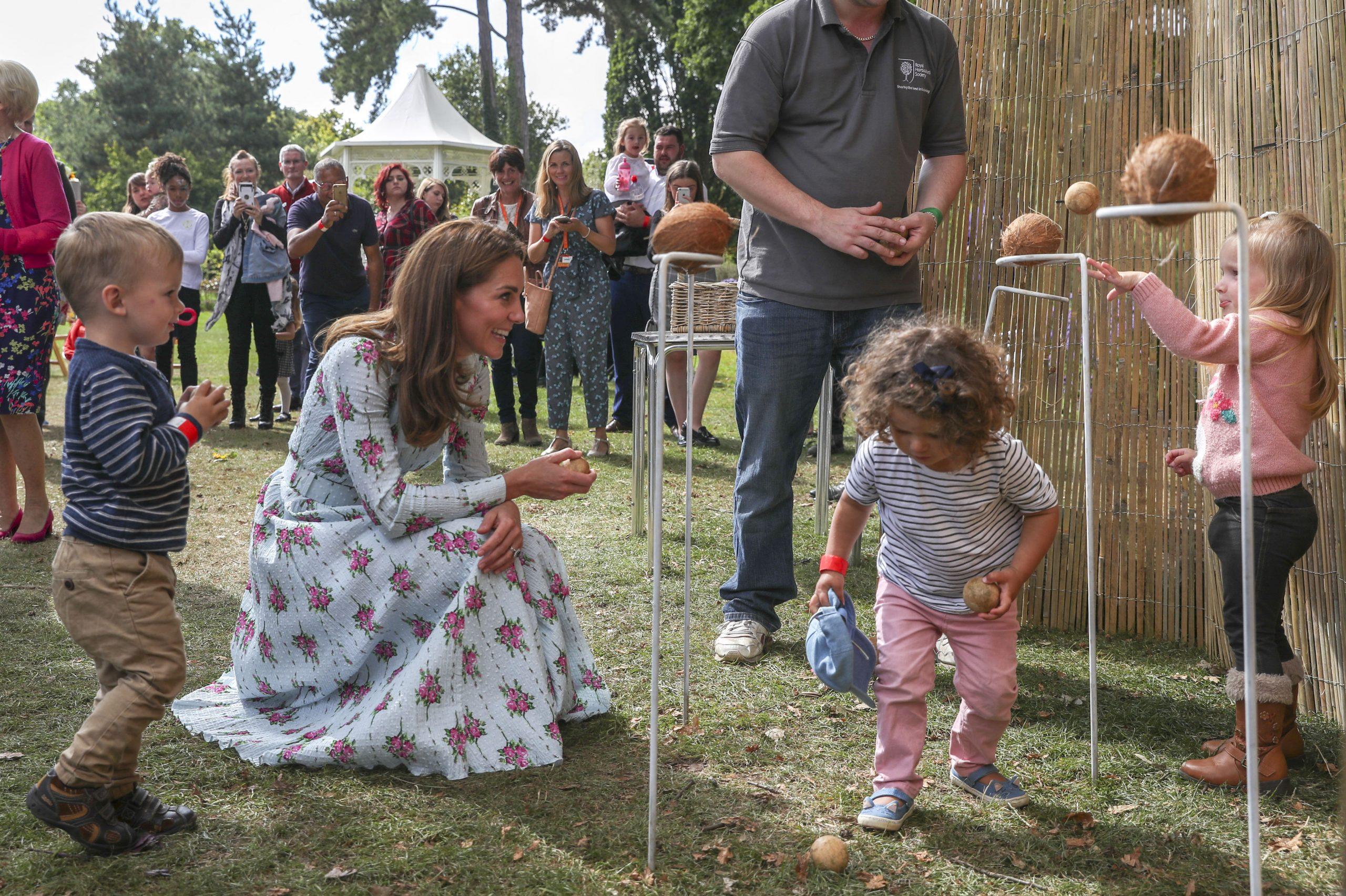 Kate met kinderen