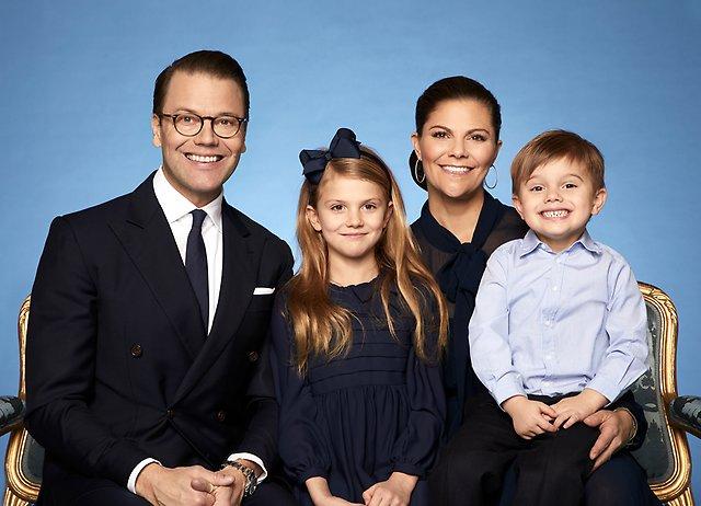Victoria Daniel gezin