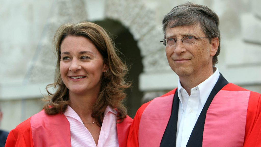 Bill Gates Melinda ANP