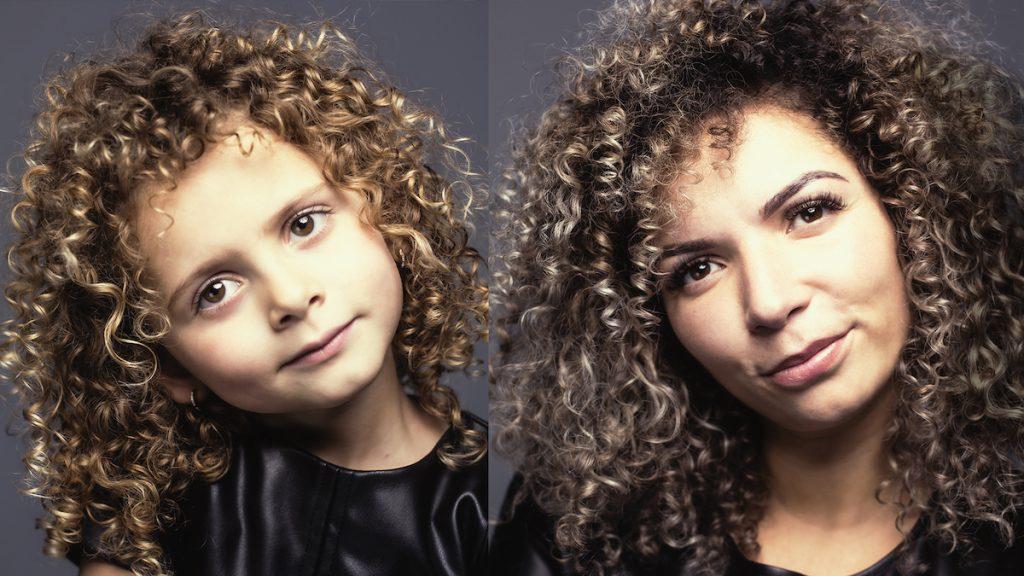 Beau-Ann (4) lijkt als twee druppels water op moeder Jaleesa: 'Ik hoor vaak, 'wat een knap kind''