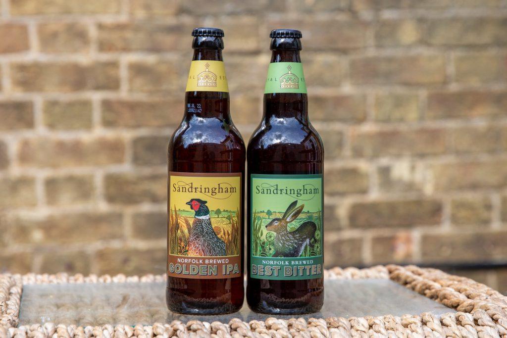 Deze biertjes zijn gemaakt met planten die groeien op het landgoed van queen Elizabeth