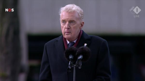 andre van duin toespraak herdenking dam tweede wereldoorlog man martin