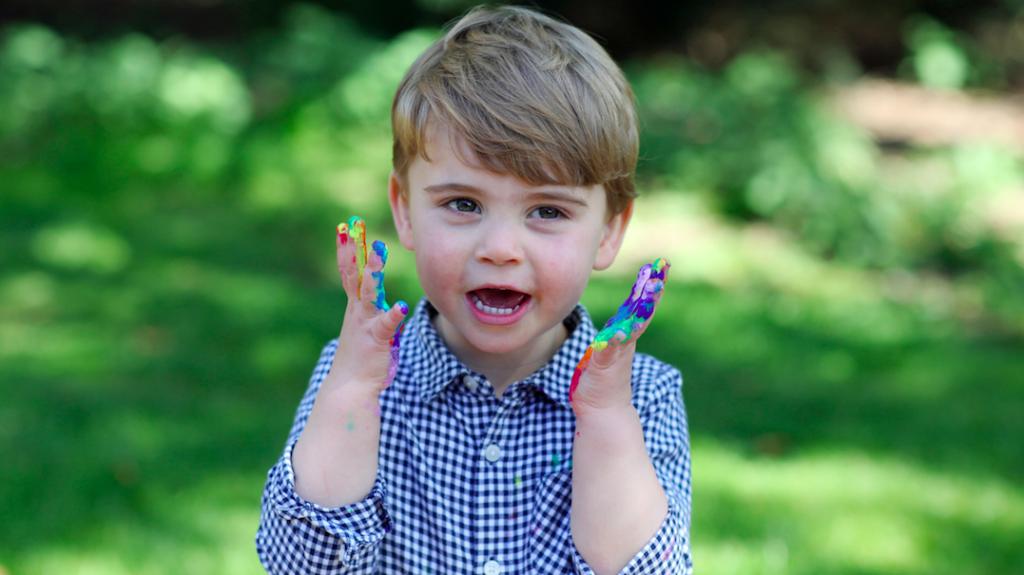 Kate Middleton verklapt nieuwe hobby van jongste zoon Louis