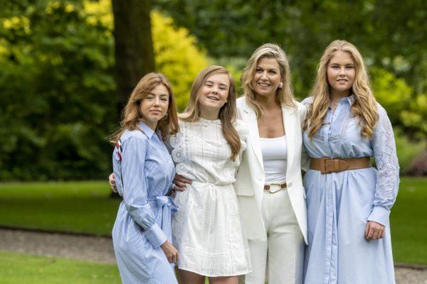 Máxima en dochters