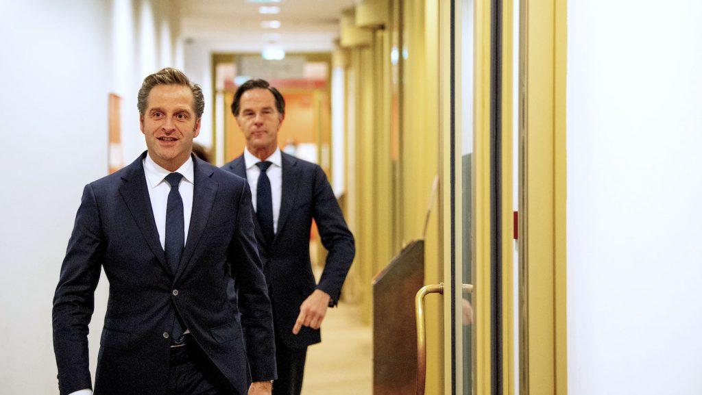 Rutte en De Jonge geven weer persconferentie