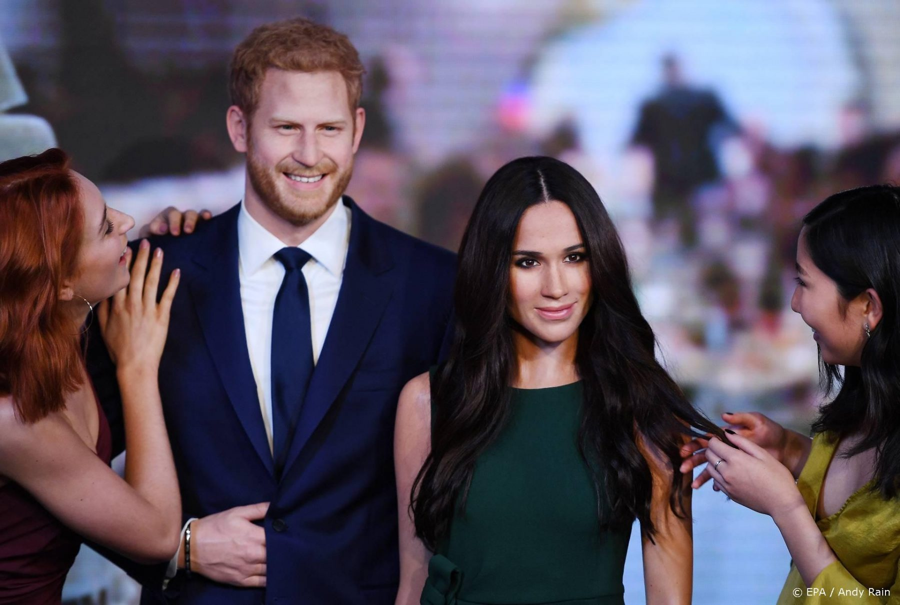 Madame Tussauds vindt nieuwe plek voor Harry en Meghan