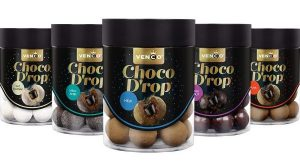 Venco drop met chocolade