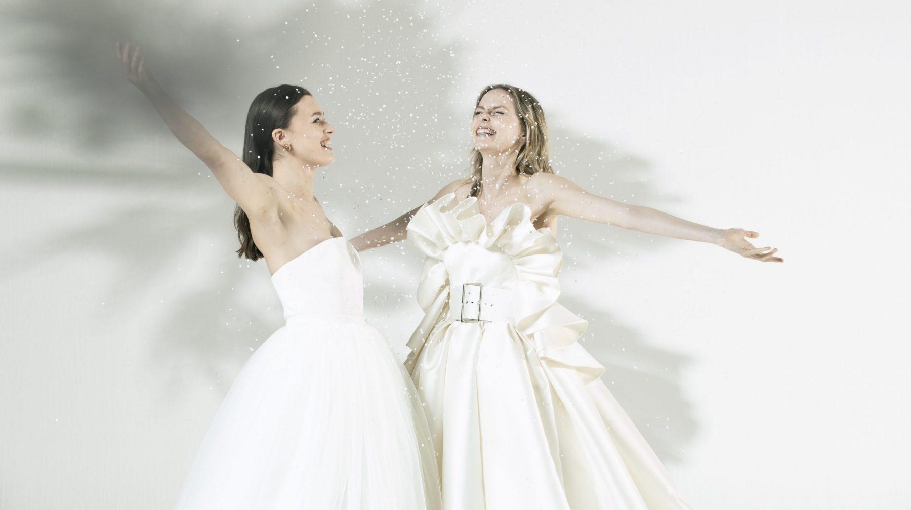 Claes Iversen lanceert betaalbare bruidscollectie: jurken vanaf 1700 euro