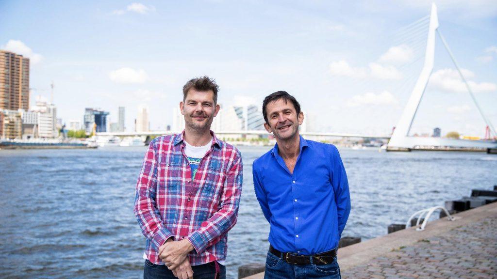 Sander Lantinga en Cornald Maas