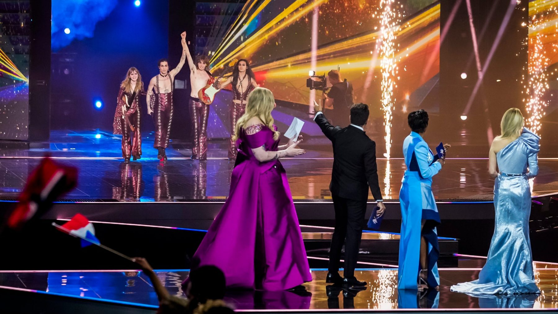Redacteur Ellen ging 'blind' naar finale Songfestival: 'Echt, ik moet een week bijkomen'