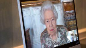 Thumbnail voor Queen 'ontmoette' achterkleindochter Lili via videogesprek
