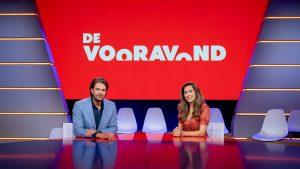 Thumbnail voor Renze Klamer en Fidan Ekiz per direct van 'De Vooravond' afgehaald: 'Ik sta perplex'