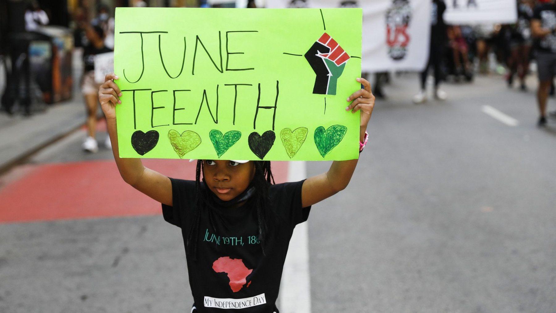Juneteenth, waarop Amerikanen afschaffing slavernij vieren, wordt nationale feestdag in VS