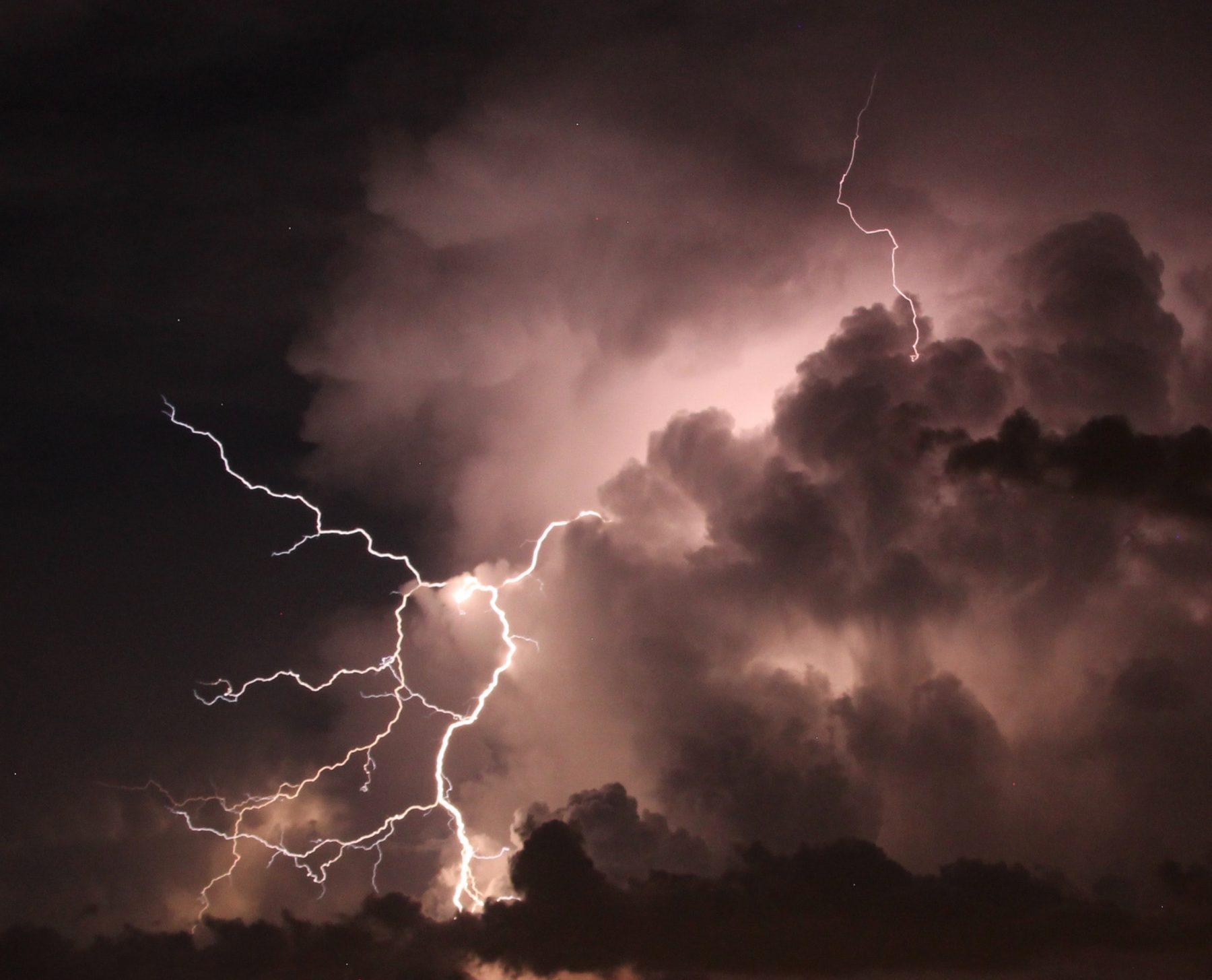 code oranje onweersbuien noord zuid holland