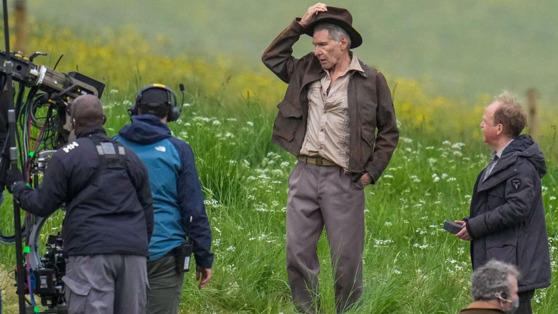 Inwoners Londen klagen over overlast opnames Indiana Jones-film