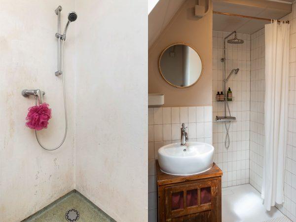 badkamer voor én na