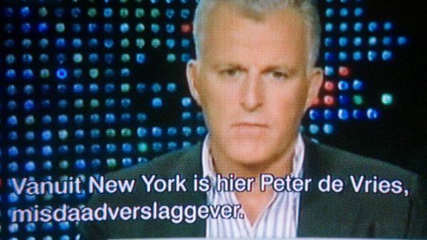 Peter R de Vries in de uitzending van Larry King over Joran van der Sloot.