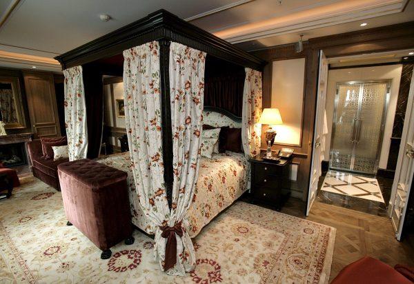 Slaapkamer koningspaar