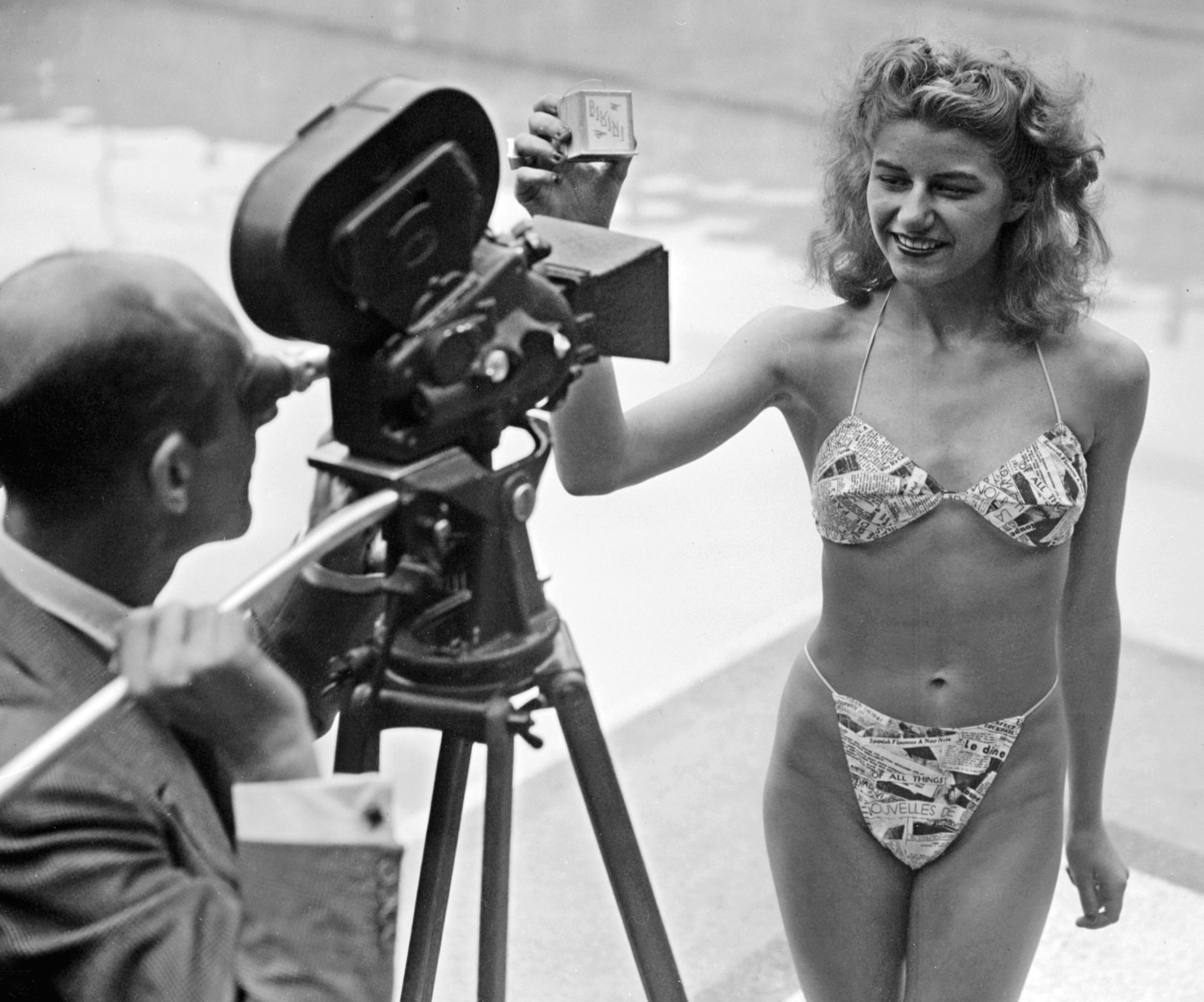 eerste bikini