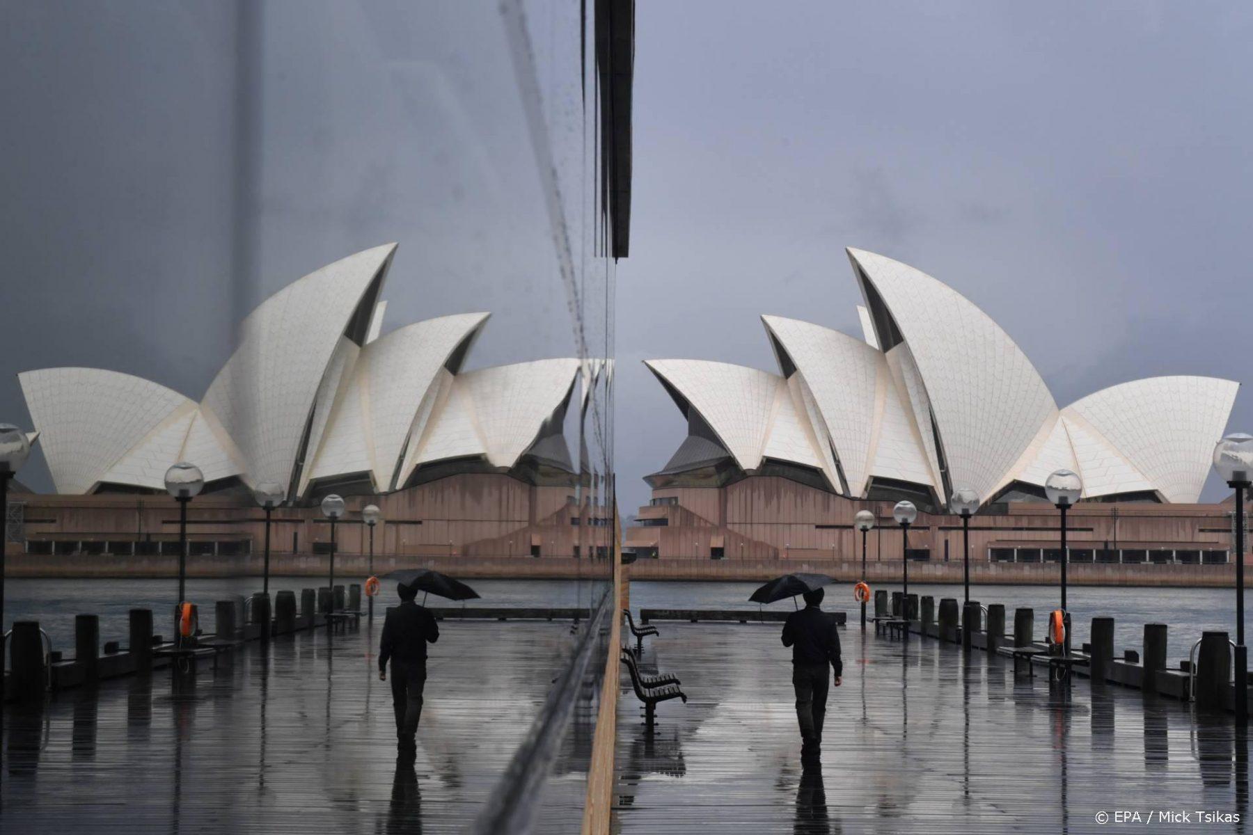 Australië meldt eerste coronadode dit jaar, recordaantal besmettingen