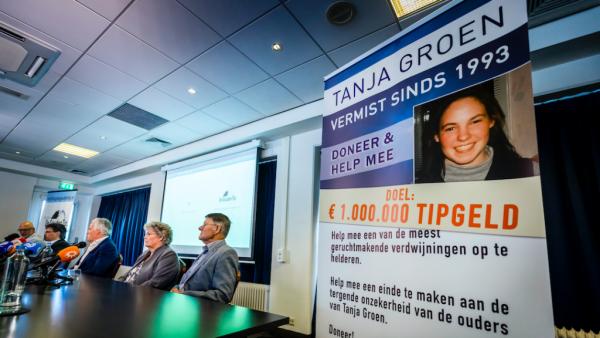 Het is gelukt: 1 miljoen euro opgehaald voor gouden tip in vermissingszaak Tanja Groen