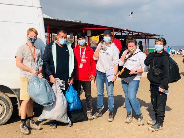 Silke Arets vluchtelingenkamp vrijwilligerswerk