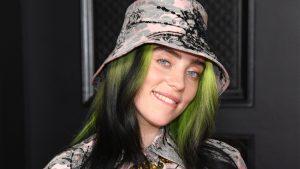 Thumbnail voor Billie Eilish over dragen van wijde kleding: 'Het werkte niet'