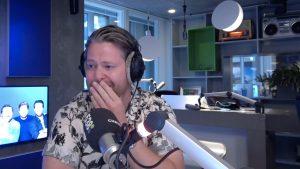Thumbnail voor 538-dj Chris Bergström na half jaar terug op de radio: 'Al m'n hele leven lang onzeker'
