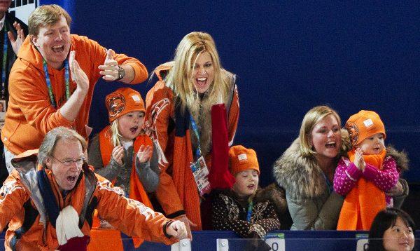 Koninklijk gezin Olympische Spelen